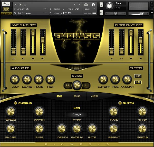 Emphasis Kontakt Library - #1 For High Quality Sounds - Trap|R&b|Hip Hop|EDM|Cinematic|VST 2