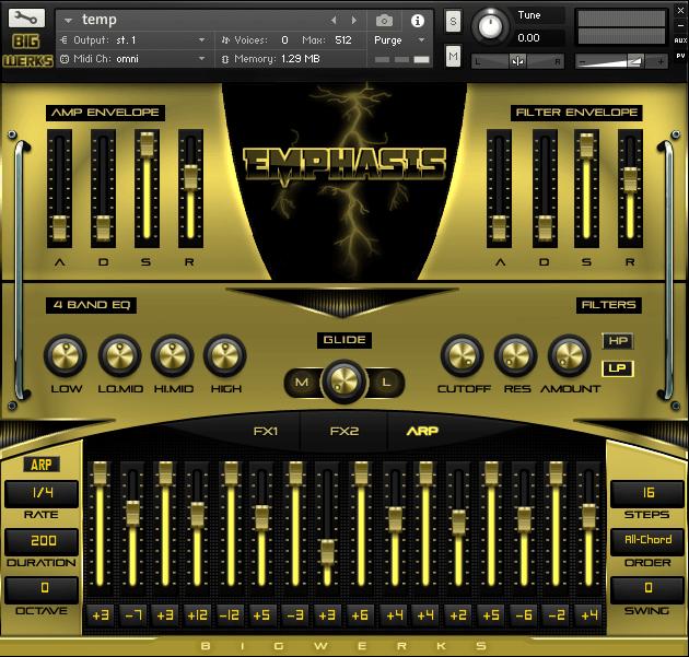 Emphasis Kontakt Library - #1 For High Quality Sounds - Trap|R&b|Hip Hop|EDM|Cinematic|VST 4