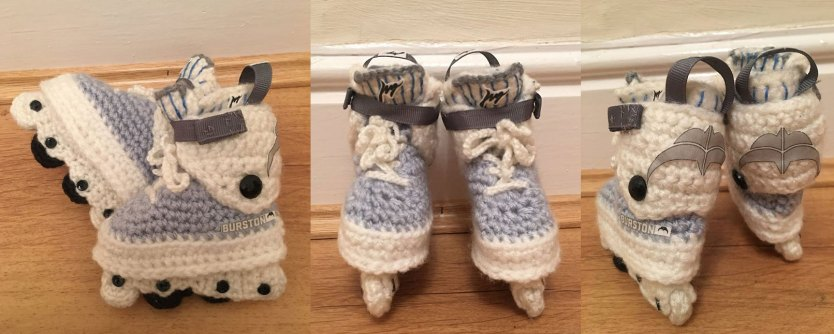 Made by Kathy's Custom Crochet in Chicago, Illinois
