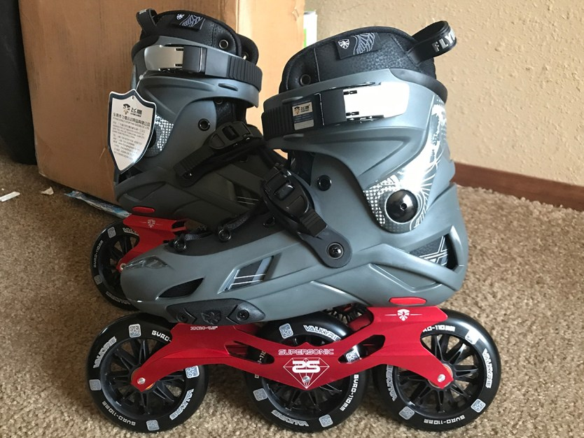 Flying Eagle F7 Optimum Skates with Super Sonic 3x110 Frames