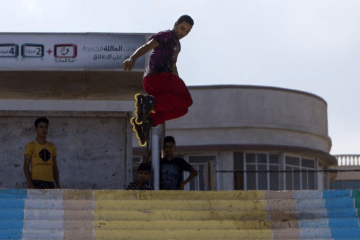 sports.yahoo.com: Palestinian Rollers The Rise of Blading in the Gaza Strip