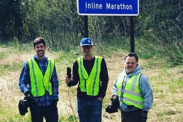 North Shore Inline Marathon Adopts and Cleans Highway