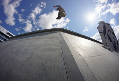 Air over the hip.
