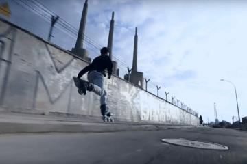 FR SKATES Featuring Antony Pottier Freeskating in Barcelona, Spain