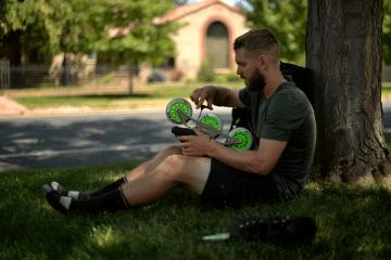 denverpost.com: Former Denver Post Employee Skates Across Country to Raise Money for Kids' Charity