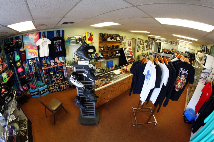 A candy store for bladers.
