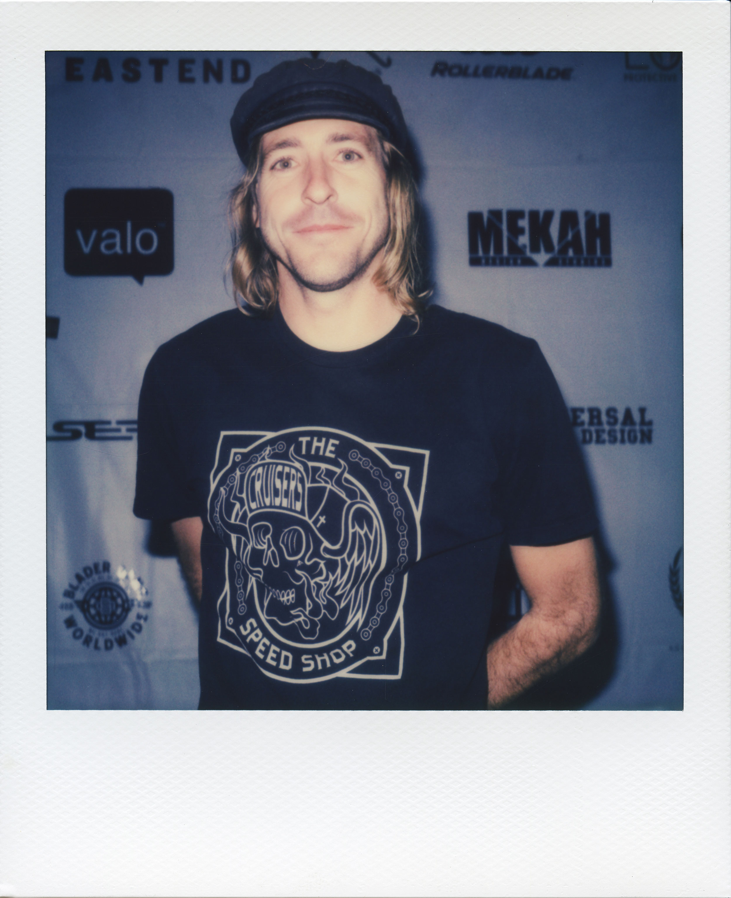 Polaroid portrait shot by Jonathan Labez