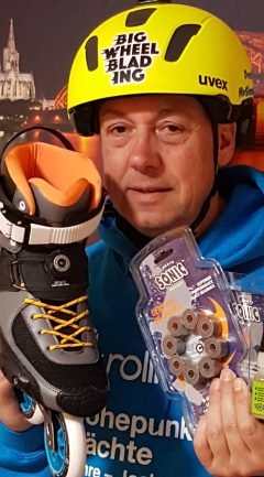 Frank with his challenge prizes!