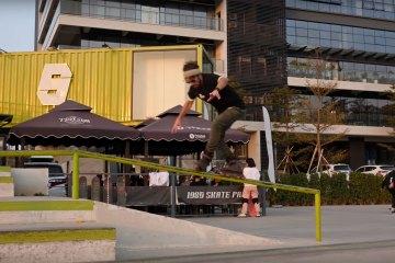 Richie Eisler Breaking in the USD Aeon Nick Lomax Pro Skates