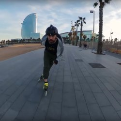Pascal Briand Freeskating Barcelona