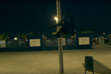 NEXT Black Night – Nick Lomax on Powerslide Next 80 skates