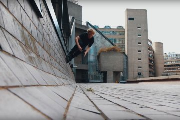 Sam Crofts Freeskating Through London