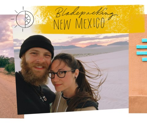 """Bladepacking New Mexico. """"The Land of Enchantment"""""""