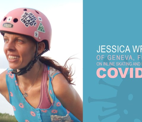 Jessica Wright of Geneva, Florida on Inline Skating and Life During COVID-19