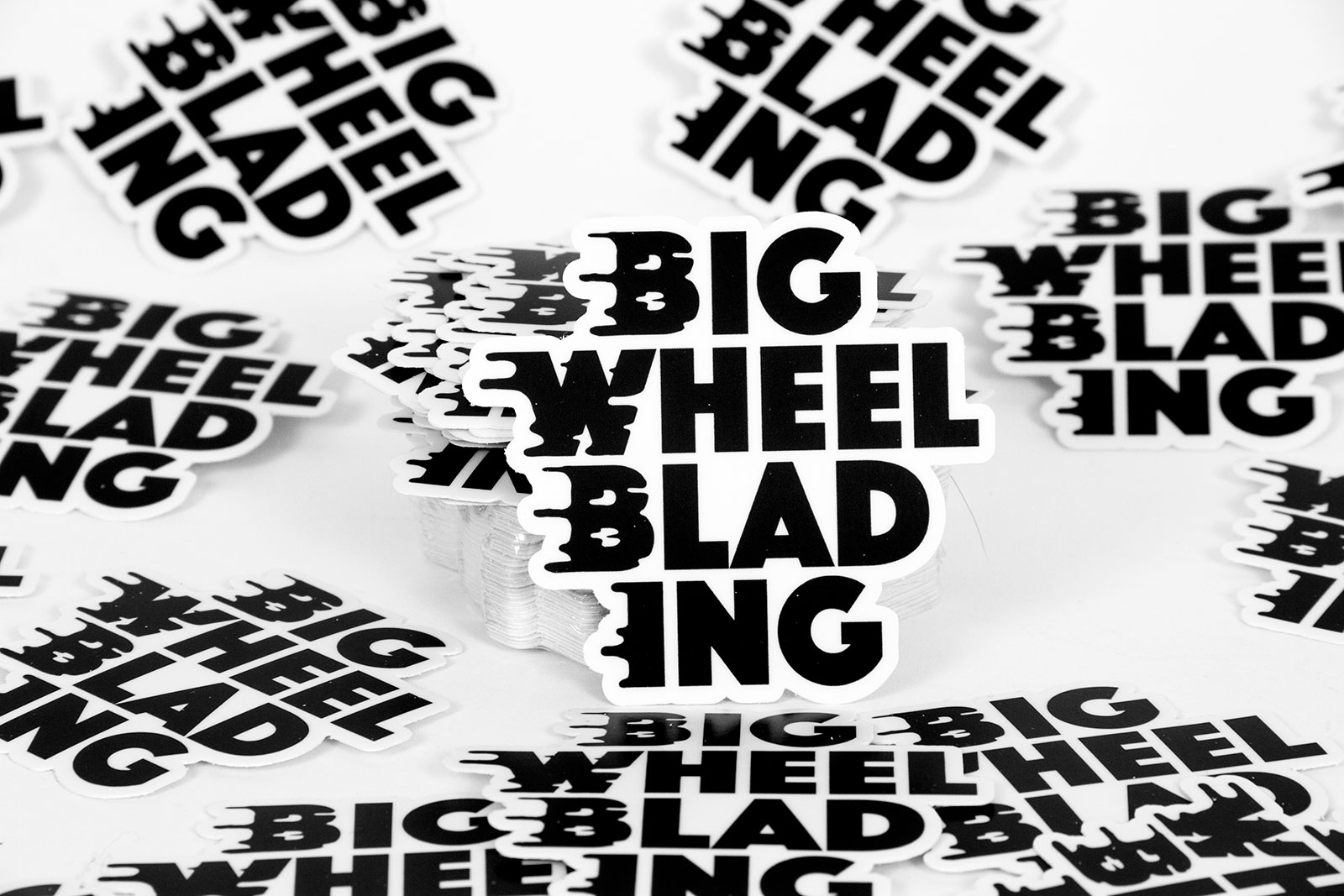 Purchase the Big Wheel Blading Diecut Sticker