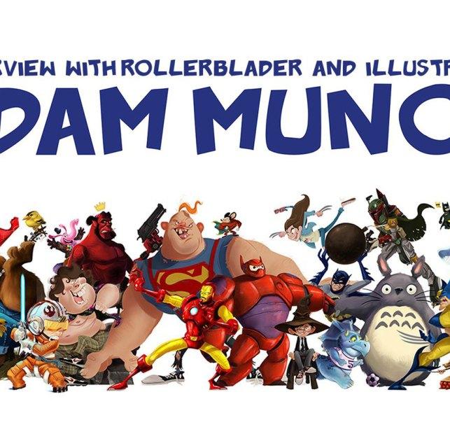 Interview with Rollerblader and Illustrator Adam Munoa