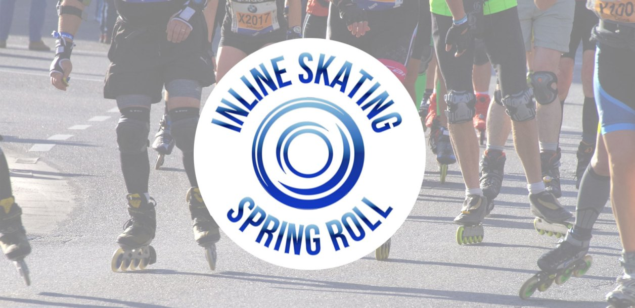 The Inaugural  Inline Skating Spring Roll Virtual Marathon to Kick Off May 22 – 31, 2021