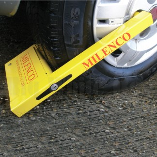 Caravan Wheel Clamp