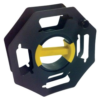 Black Cable Reel