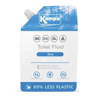 Kampa Blue Toilet Fluid Pouch 1L LQ0001