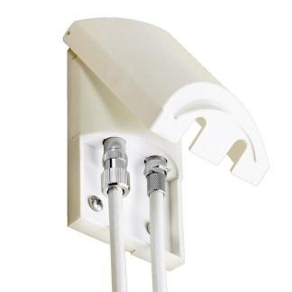 Vision Plus External TV Aerial and Satellite Socket 09-6018