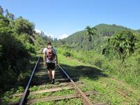 Walking down the train tracks, Ella, Sri Lanka