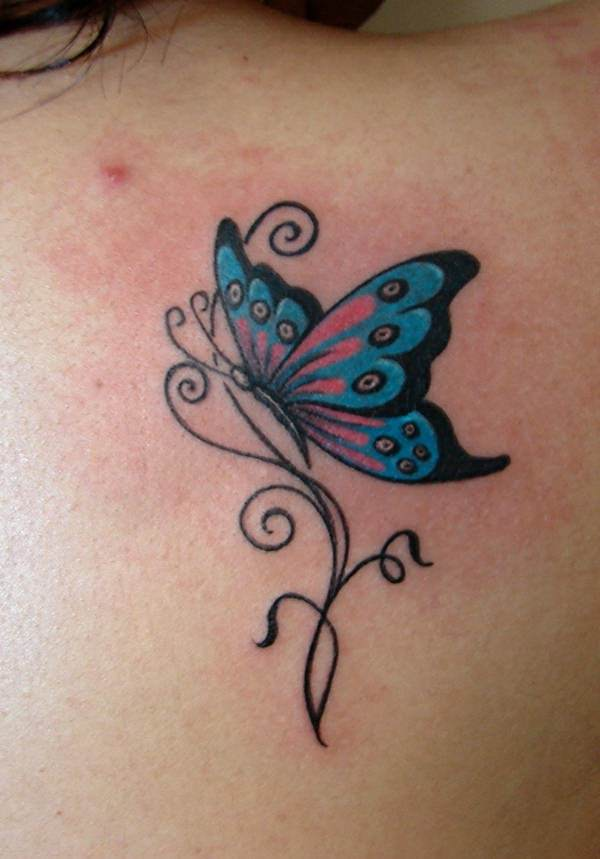 Pink Butterfly Tattoos : butterfly, tattoos, Beautiful, Butterfly, Tattoo, Designs, Everyone, Bigwig