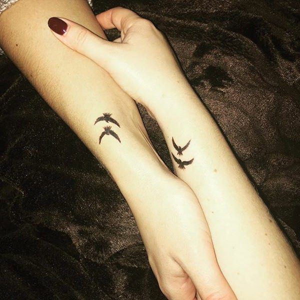Best Friend Tattoos For 4 People