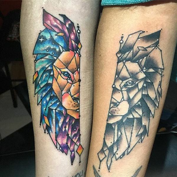 Cool Best Friend Tattoos For Guys