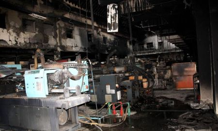 a gutted factory-Rohtak