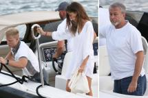 Chelsea Owner Roman Abramovich Relaxes With Mystery Woman