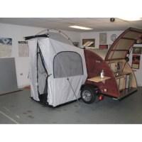 teardrop camper side tent