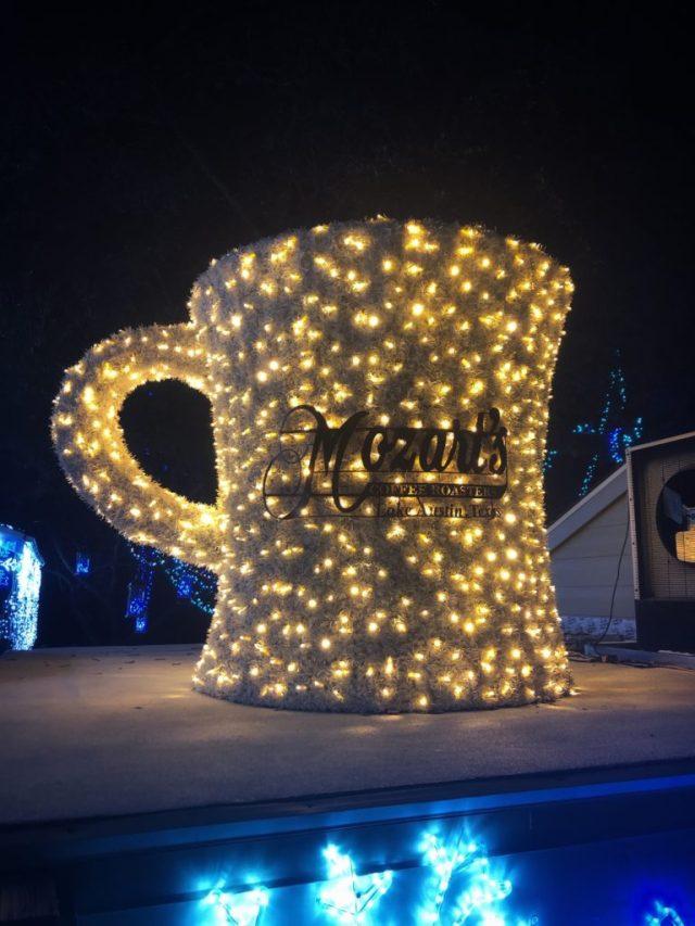 mozart's christmas light show