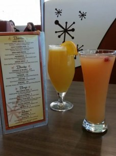 Grapefruit Mimosa for me and a Brewmosa for Him!