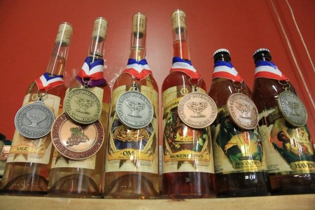 meridian hive medals