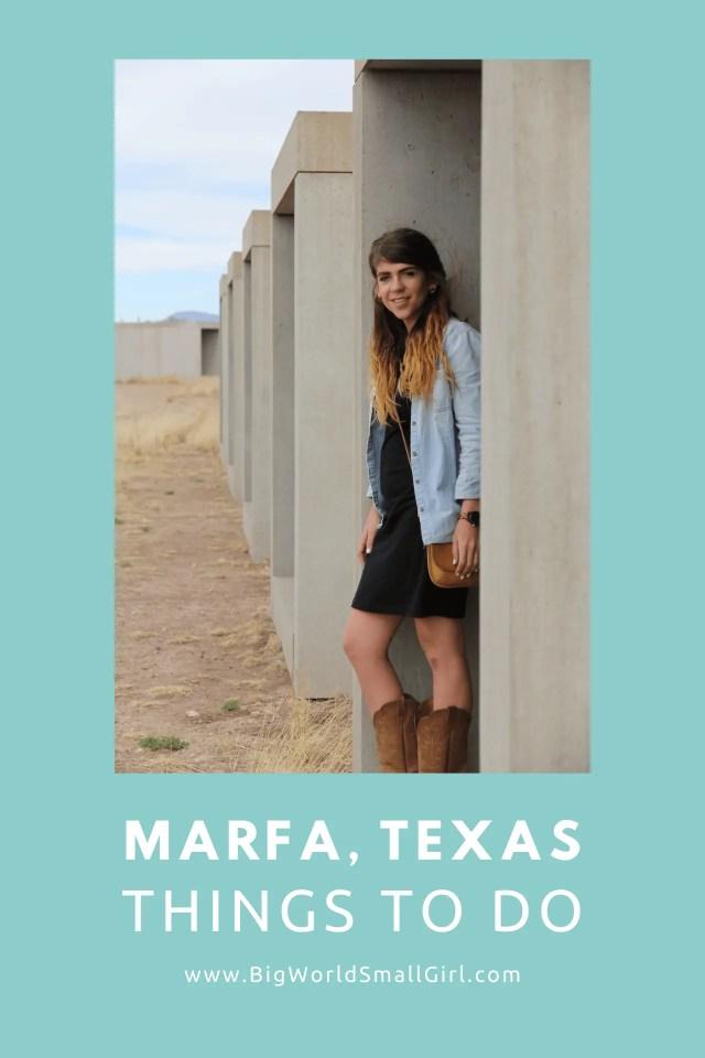 Marfa Texas Things to Do