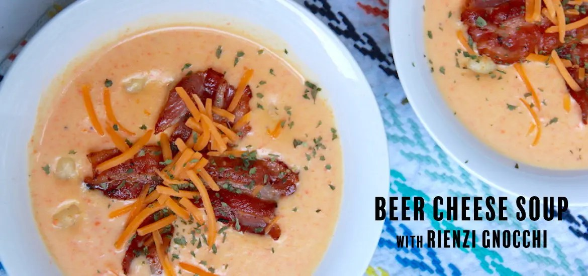 gnocchi beer cheese soup recipe