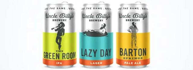 uncle billys core beers