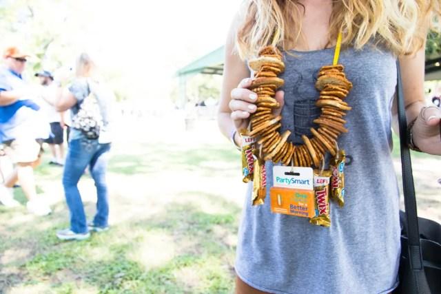 beer festival necklace