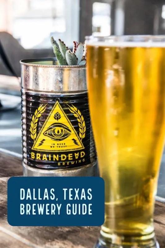 dallas brewery guide