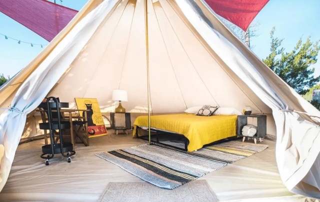 Johnson city glamping