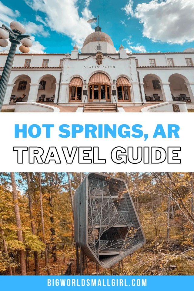 The Best Things to Do in Hot Springs Arkansas