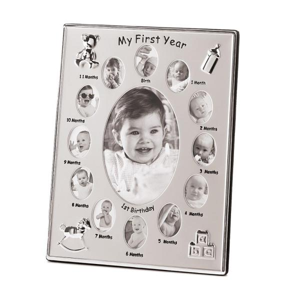 my first year photo frame big yaad marketplace - My First Year Photo Frame