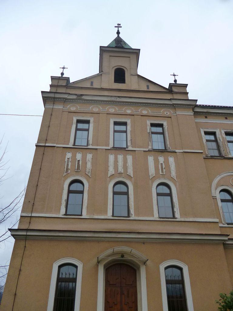 Монастырь и гимназия. Деталь. Фото: Елена Арсениевич, CC BY-SA 3.0