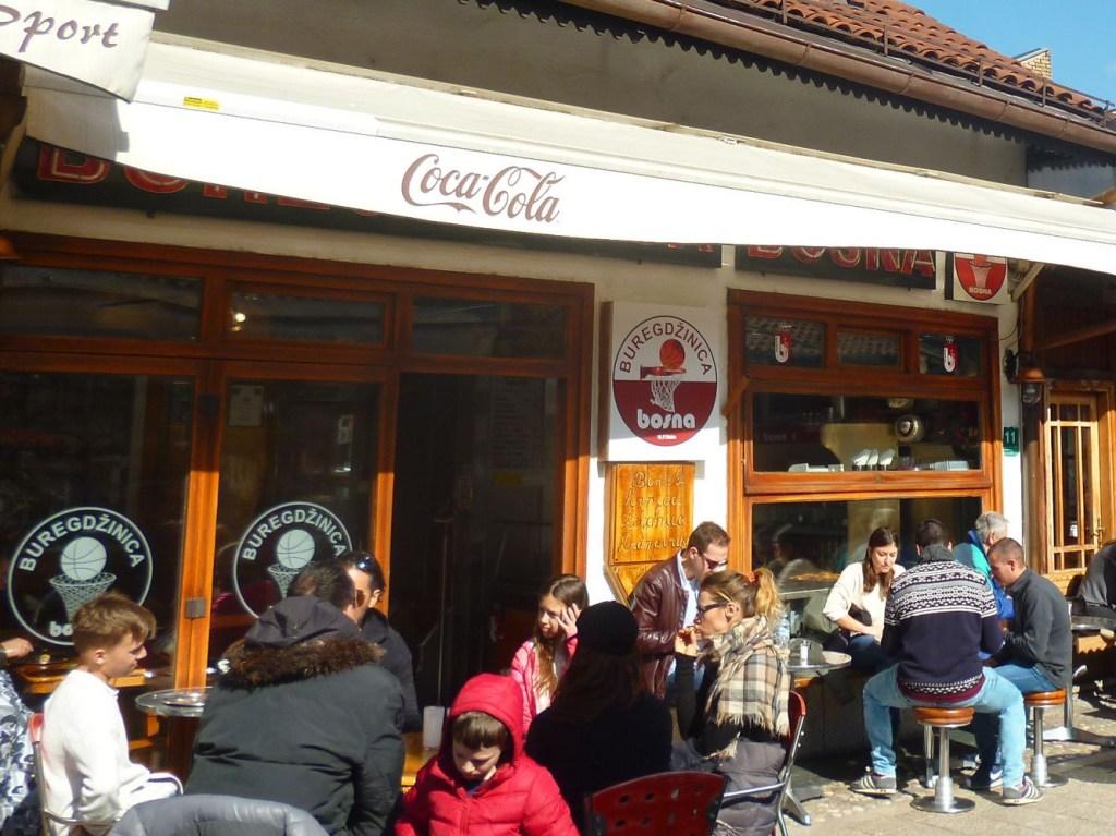 Бурегджиница на улице Браваджилук в Сараево. Фото: Елена Арсениевич, CC BY-SA 3.0