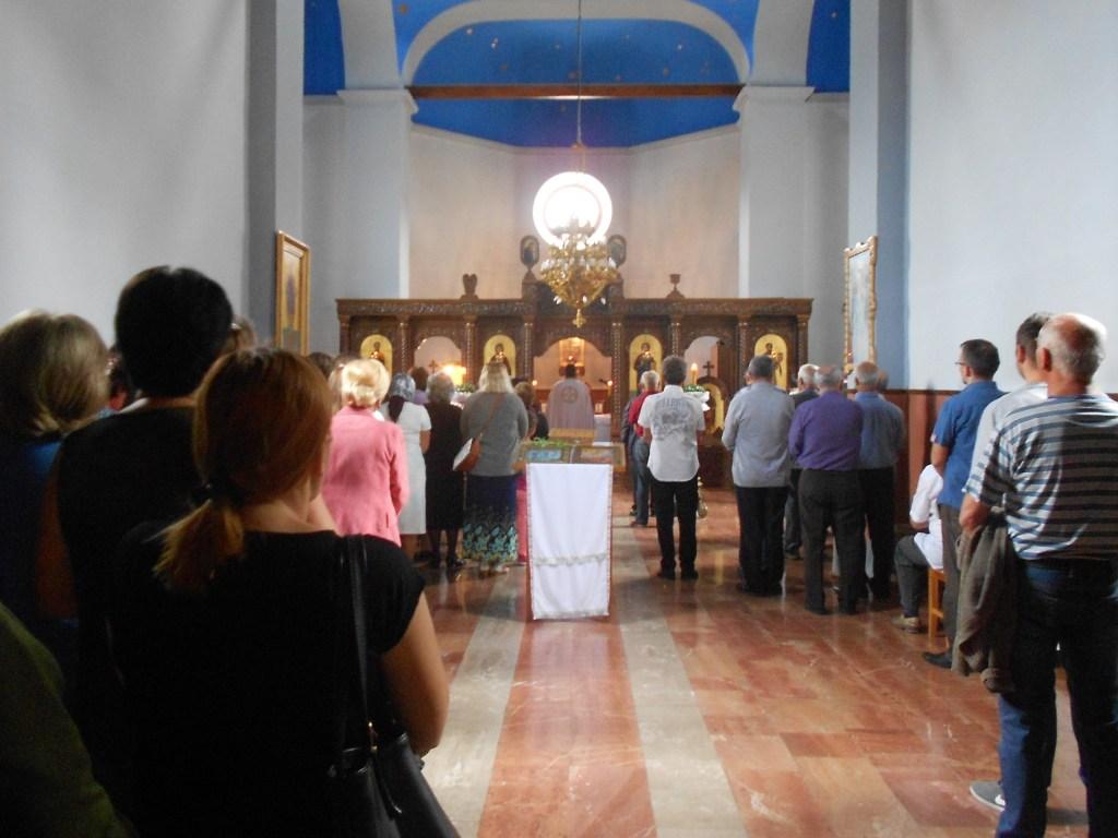 На литургии. Фото: Елена Арсениевич, CC BY-SA 3.0