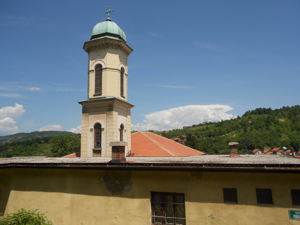 Колокольня церкви. Фото: Елена Арсениевич, CC BY-SA 3.0