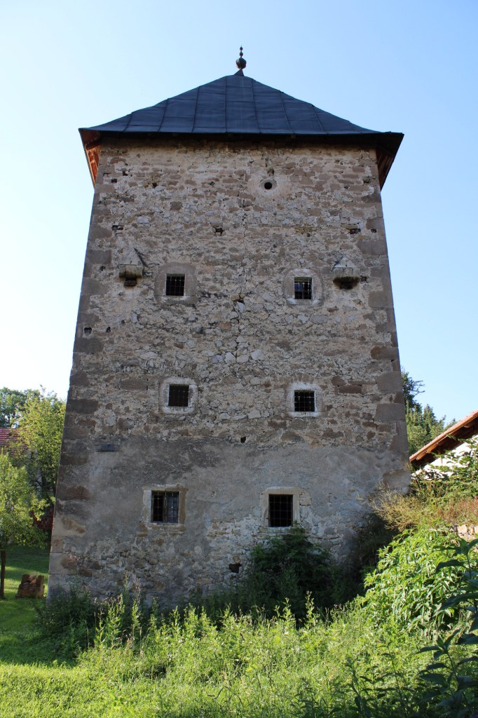 Башня в анфас. Фото: Елена Арсениевич, CC BY-SA 3.0