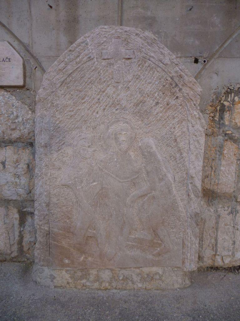 Стояние 10. Иисуса лишают одежды. Фото: Елена Арсениевич, CC BY-SA 3.0
