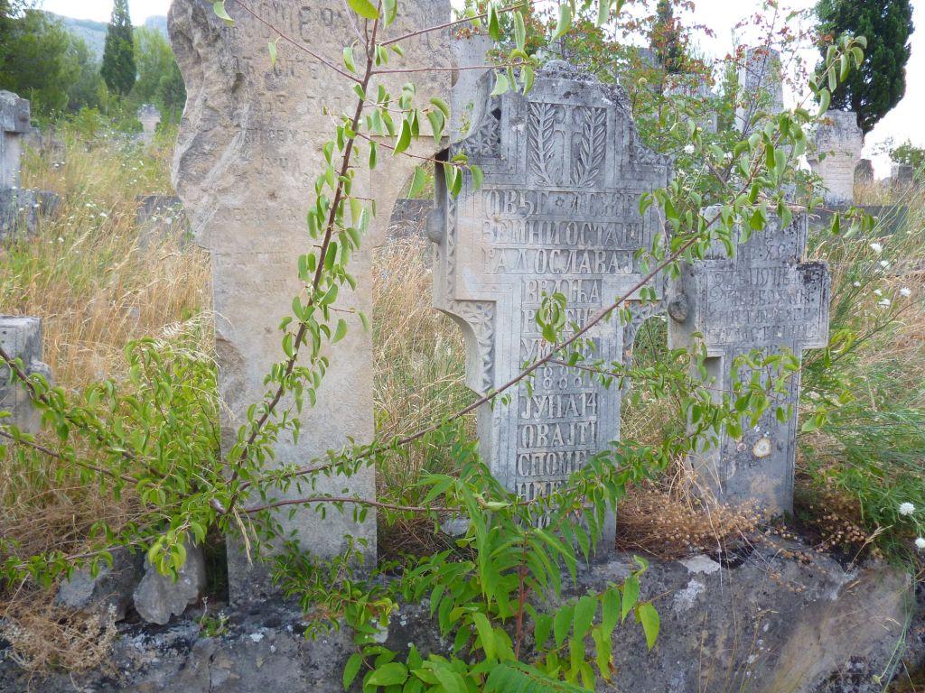 Старинные кресты на православном кладбище. Фото: Елена Арсениевич, CC BY-SA 3.0
